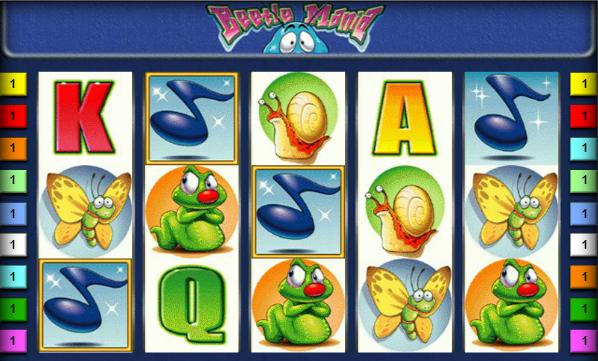 игровой автомат жуки