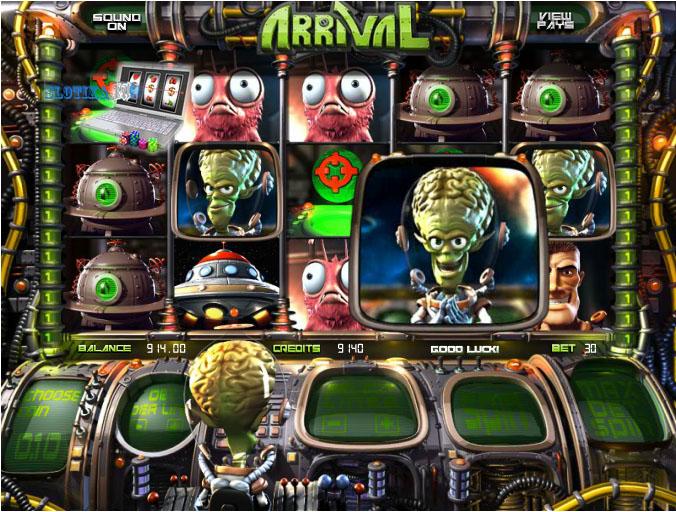 игровой автомат пришельцы