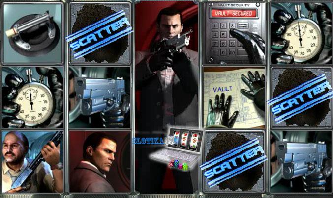 3d игровой автомат ограбление