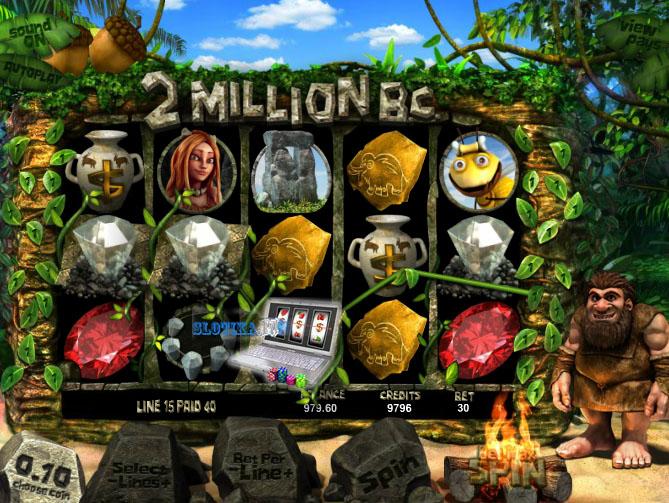 3d игровой автомат 2 миллиона лет до н.э.